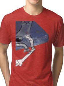 Art Is Trash Graphic T-Shirt Tri-blend T-Shirt