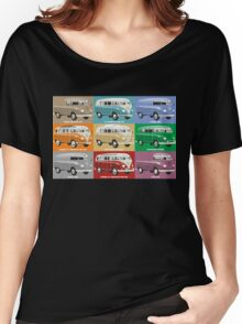 VW T1 Transporter range Women's Relaxed Fit T-Shirt