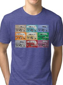 VW T1 Transporter range Tri-blend T-Shirt