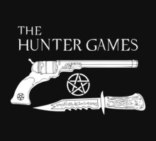 The Hunter Games Alternative Design (White) by DANgerous124