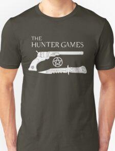 The Hunter Games Alternative Design (White) T-Shirt