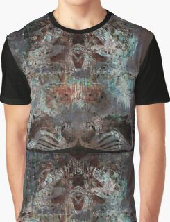 Dark Heart Abstract Urban Grunge  Graphic T-Shirt