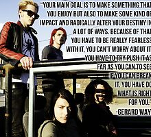 Gerard Way Quote #7 by xdangerline