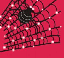 Sparkly Spider web! Sticker