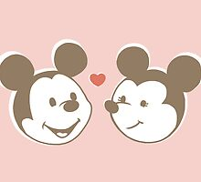 Micky and Minnie by NancyBee