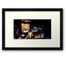 Electric pulse Framed Print