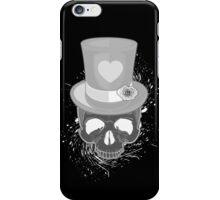 Pop Skull - Black & White iPhone Case/Skin