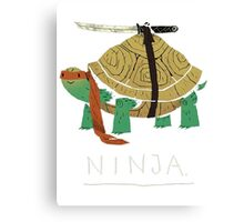 Real Ninja Turtle Canvas Print