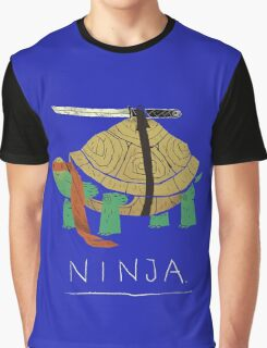 Real Ninja Turtle Graphic T-Shirt