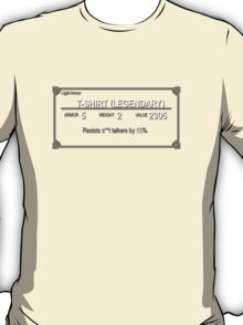 Elder Scrolls Legendary T-Shirt T-Shirt