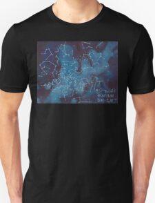 Astronomer's Constellation Star Map Unisex T-Shirt