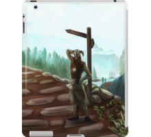 Two Roads iPad Case/Skin