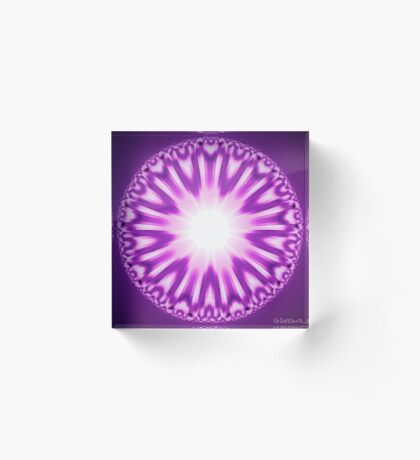 Buddha's Eye Acrylic Block