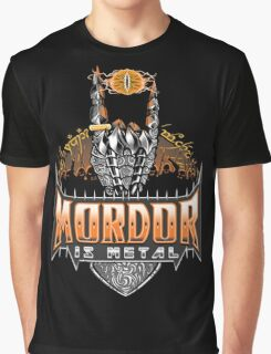 Is Metal Graphic T-Shirt