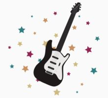 Rock Guitar Baby Tee