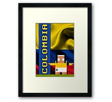 World Cup 2014: Colombia Framed Print