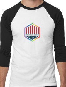 Freedom, Rights, Solidarity Men's Baseball ¾ T-Shirt