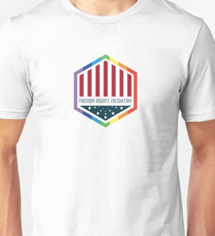 Freedom, Rights, Solidarity Unisex T-Shirt