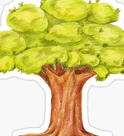 fairy tree.  Sticker