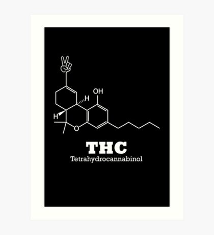 The Happy Chemical Art Print