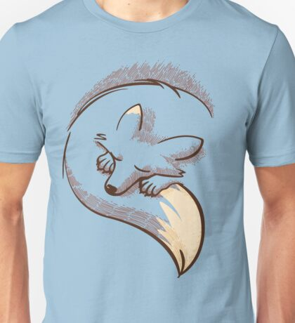 The fox is sleeping Unisex T-Shirt