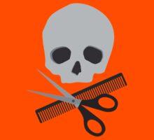 Barber skull Kids Tee