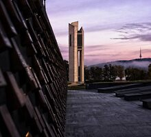 The Carillon in Canberra Shortly After Sunrise - 1 by Wolf Sverak