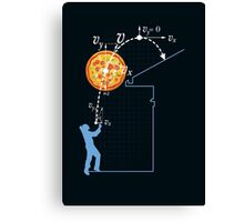 Breaking Bad Pizza Toss Canvas Print