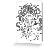 Love Cthulhu Greeting Card