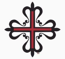 Templar cross 2 Kids Clothes