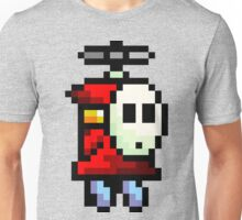 Shy Guy flying Super Mario Unisex T-Shirt