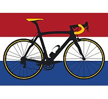 Bike Flag Netherlands (Big - Highlight) Photographic Print