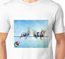 Finches On Parade - Excerpt One Unisex T-Shirt