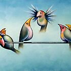 Finches On Parade - Excerpt Two by Karsten Stier
