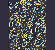 Bicycle Assembly Pattern (blu) T-Shirt