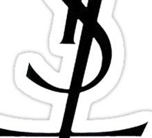 Yves Saint Lucifer Sticker