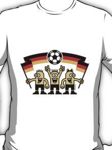 Fußballfans Deutschland Fußball Fan Germany T-Shirt