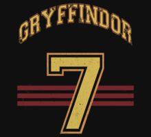 GRYFINNDOR Potter Jersey Kids Clothes