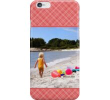 Just a Beach Boy and His Toys iPhone Case/Skin