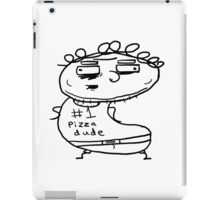 The #1 Pizza Dude iPad Case/Skin