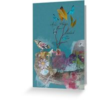 The Land of Painted Dreams Greeting Card