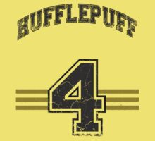 Hufflepuff Home Jersey  by BGWdesigns