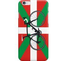 Bike Flag Basque (Big - Highlight) iPhone Case/Skin