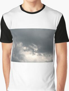 Fluffy stormy clouds. Graphic T-Shirt