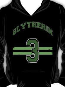 Slytherin Jersey  T-Shirt