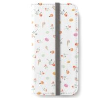 MACARONS & ROSES on white iPhone Wallet/Case/Skin