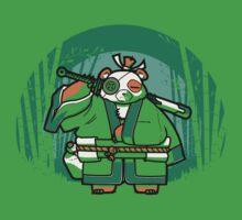 Samurai Panda Baby Tee