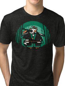 Samurai Panda Tri-blend T-Shirt