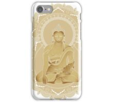 Gold buddha iPhone Case/Skin