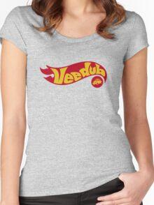 VeeDub hot wheels Women's Fitted Scoop T-Shirt